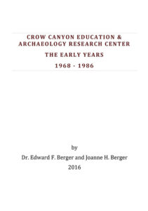 CROW CANYON - THE EARLY YEARS